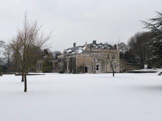 Snow at Downes Estate